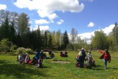 Sākumskolas pavasara ekskursija uz atpūtas parku Laumas
