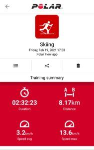 Ziemas olimpiādes datu uzskaite telefona aplikācijā